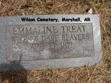 BEAVERS, EMMALINE - Searcy County, Arkansas | EMMALINE BEAVERS - Arkansas Gravestone Photos