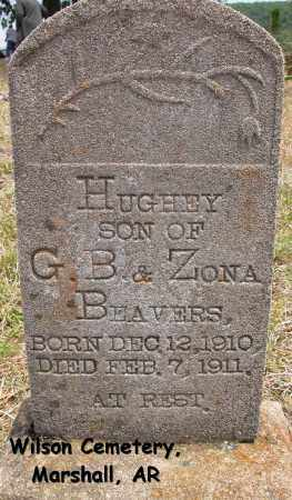BEAVERS, HUGHEY - Searcy County, Arkansas | HUGHEY BEAVERS - Arkansas Gravestone Photos
