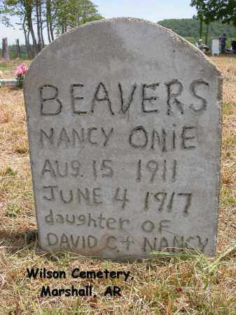 BEAVERS, NANCY ONIE - Searcy County, Arkansas | NANCY ONIE BEAVERS - Arkansas Gravestone Photos