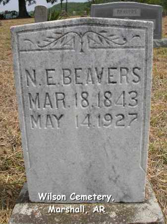 BEAVERS, NANCY ELLEN - Searcy County, Arkansas | NANCY ELLEN BEAVERS - Arkansas Gravestone Photos