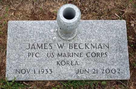 BECKMAN (VETERAN KOR), JAMES W - Searcy County, Arkansas | JAMES W BECKMAN (VETERAN KOR) - Arkansas Gravestone Photos
