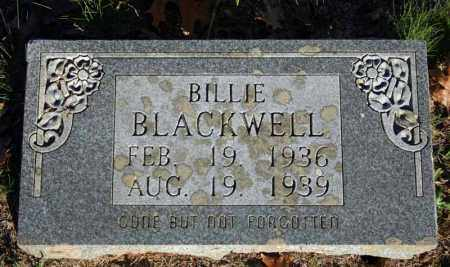 BLACKWELL, BILLIE - Searcy County, Arkansas | BILLIE BLACKWELL - Arkansas Gravestone Photos