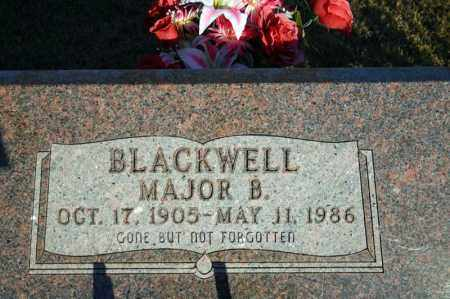 BLACKWELL, MAJOR BURTON - Searcy County, Arkansas | MAJOR BURTON BLACKWELL - Arkansas Gravestone Photos