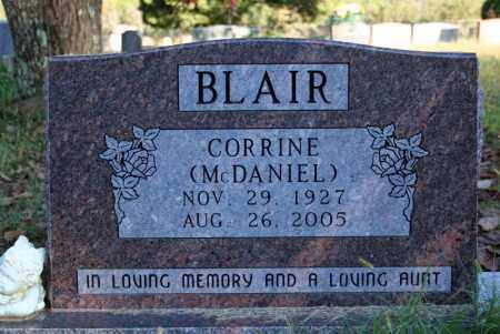 BLAIR, CORRINE - Searcy County, Arkansas | CORRINE BLAIR - Arkansas Gravestone Photos