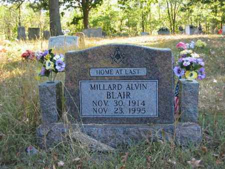 BLAIR, MILLARD ALVIN - Searcy County, Arkansas | MILLARD ALVIN BLAIR - Arkansas Gravestone Photos