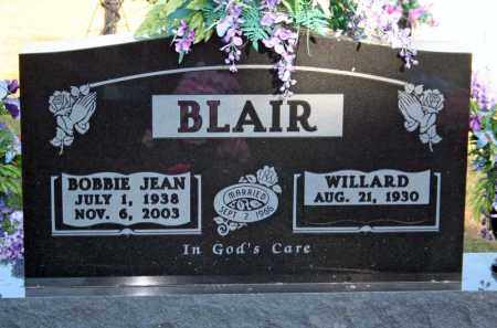 BLAIR, WILLARD - Searcy County, Arkansas | WILLARD BLAIR - Arkansas Gravestone Photos