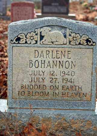 BOHANNON, DARLENE - Searcy County, Arkansas | DARLENE BOHANNON - Arkansas Gravestone Photos