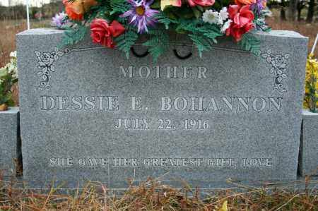BOHANNON, DESSIE F. - Searcy County, Arkansas | DESSIE F. BOHANNON - Arkansas Gravestone Photos