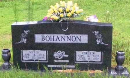 BOHANNON, CHESTER - Searcy County, Arkansas | CHESTER BOHANNON - Arkansas Gravestone Photos