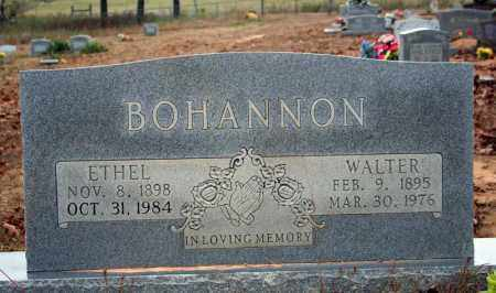 BOHANNON, WALTER - Searcy County, Arkansas | WALTER BOHANNON - Arkansas Gravestone Photos
