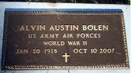 BOLEN  (VETERAN WWII), ALVIN AUSTIN - Searcy County, Arkansas | ALVIN AUSTIN BOLEN  (VETERAN WWII) - Arkansas Gravestone Photos