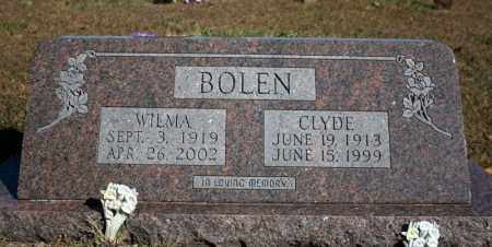 HARRIS BOLEN, WILMA - Searcy County, Arkansas | WILMA HARRIS BOLEN - Arkansas Gravestone Photos