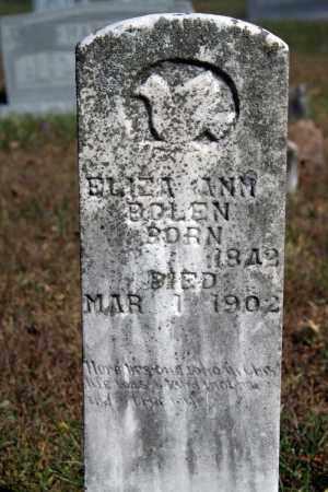 BOLEN, ELIZA ANN - Searcy County, Arkansas | ELIZA ANN BOLEN - Arkansas Gravestone Photos
