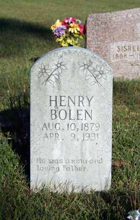 BOLEN, HENRY - Searcy County, Arkansas | HENRY BOLEN - Arkansas Gravestone Photos