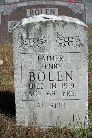 BOLEN, HENRY - Searcy County, Arkansas   HENRY BOLEN - Arkansas Gravestone Photos