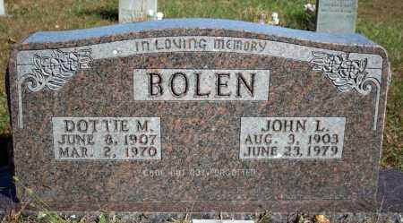 BOLEN, JOHN L. - Searcy County, Arkansas | JOHN L. BOLEN - Arkansas Gravestone Photos