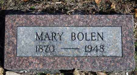 BOLEN, MARY - Searcy County, Arkansas | MARY BOLEN - Arkansas Gravestone Photos