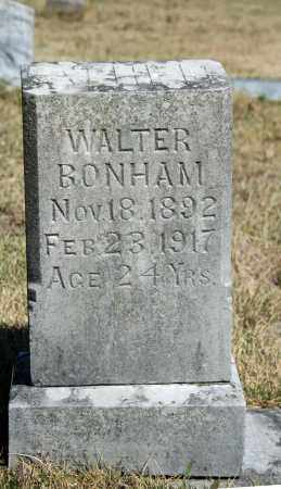 BONHAM, WALTER - Searcy County, Arkansas | WALTER BONHAM - Arkansas Gravestone Photos
