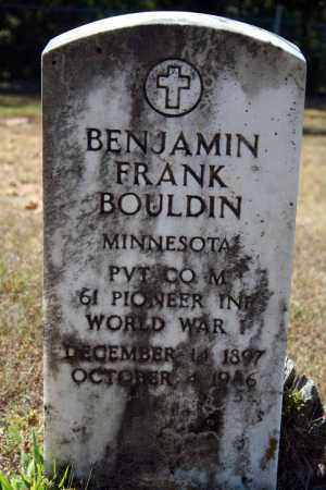 BOULDIN (VETERAN WWI), BENJAMIN FRANK - Searcy County, Arkansas | BENJAMIN FRANK BOULDIN (VETERAN WWI) - Arkansas Gravestone Photos