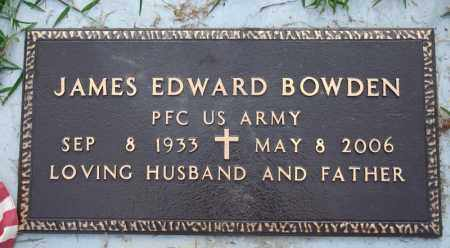 BOWDEN  (VETERAN), JAMES EDWARD - Searcy County, Arkansas | JAMES EDWARD BOWDEN  (VETERAN) - Arkansas Gravestone Photos