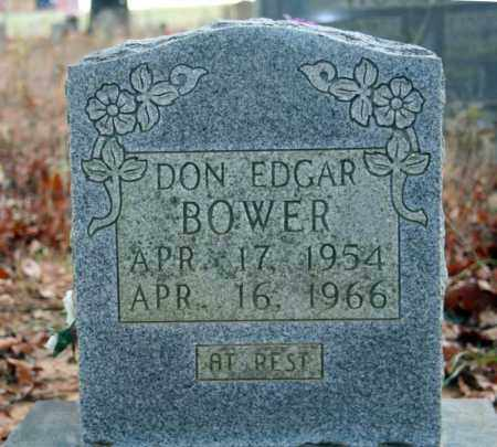 BOWER, DON EDGAR - Searcy County, Arkansas | DON EDGAR BOWER - Arkansas Gravestone Photos