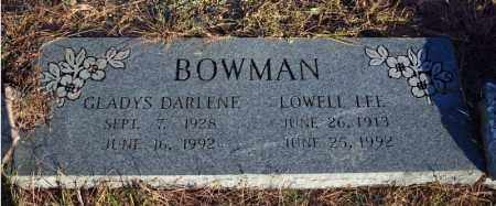 BOWMAN, GLADYS DARLENE - Searcy County, Arkansas | GLADYS DARLENE BOWMAN - Arkansas Gravestone Photos
