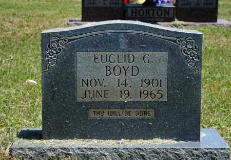 BOYD, EUCLID G. - Searcy County, Arkansas | EUCLID G. BOYD - Arkansas Gravestone Photos