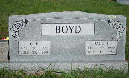 BOYD, G.K. - Searcy County, Arkansas | G.K. BOYD - Arkansas Gravestone Photos