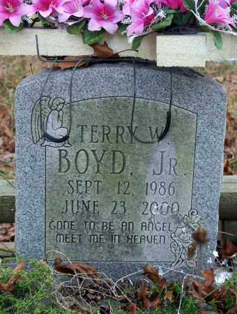 BOYD, TERRY W. JR. - Searcy County, Arkansas | TERRY W. JR. BOYD - Arkansas Gravestone Photos