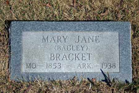 BAGLEY BRACKET, MARY JANE - Searcy County, Arkansas | MARY JANE BAGLEY BRACKET - Arkansas Gravestone Photos