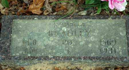 BREWER BRADLEY, ISABELLE - Searcy County, Arkansas | ISABELLE BREWER BRADLEY - Arkansas Gravestone Photos