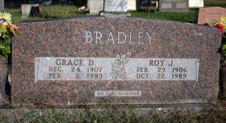 BRADLEY, GRACE D. - Searcy County, Arkansas | GRACE D. BRADLEY - Arkansas Gravestone Photos