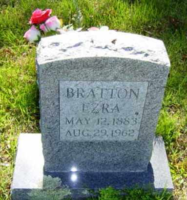 BRATTON, EZRA - Searcy County, Arkansas | EZRA BRATTON - Arkansas Gravestone Photos
