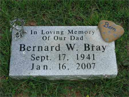 BRAY, BERNARD WESLEY - Searcy County, Arkansas | BERNARD WESLEY BRAY - Arkansas Gravestone Photos