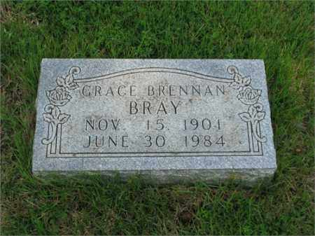 BRENNAN BRAY, GRACE EVELYN - Searcy County, Arkansas | GRACE EVELYN BRENNAN BRAY - Arkansas Gravestone Photos