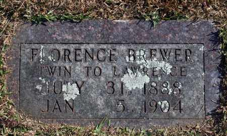 BREWER, FLORENCE - Searcy County, Arkansas | FLORENCE BREWER - Arkansas Gravestone Photos