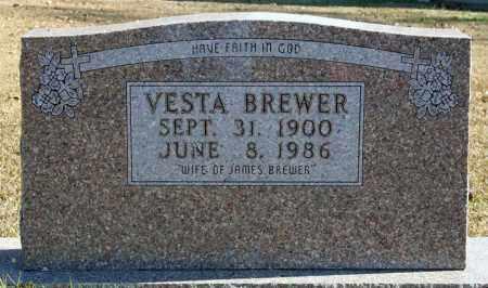 BREWER, VESTA - Searcy County, Arkansas | VESTA BREWER - Arkansas Gravestone Photos