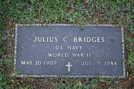 BRIDGES (VETERAN WWII), JULIUS C - Searcy County, Arkansas | JULIUS C BRIDGES (VETERAN WWII) - Arkansas Gravestone Photos