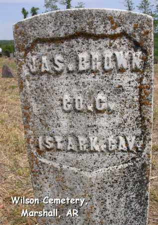 BROWN (VETERAN UNION), JAMES - Searcy County, Arkansas | JAMES BROWN (VETERAN UNION) - Arkansas Gravestone Photos