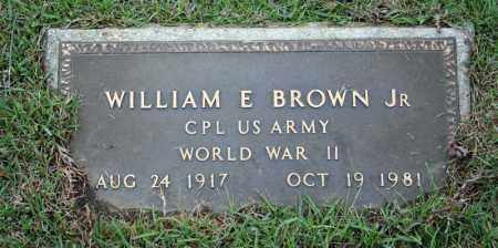 BROWN, JR (VETERAN WWII), WILLIAM E - Searcy County, Arkansas | WILLIAM E BROWN, JR (VETERAN WWII) - Arkansas Gravestone Photos