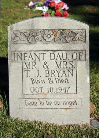 BRYAN, INFANT DAUGHTER - Searcy County, Arkansas | INFANT DAUGHTER BRYAN - Arkansas Gravestone Photos