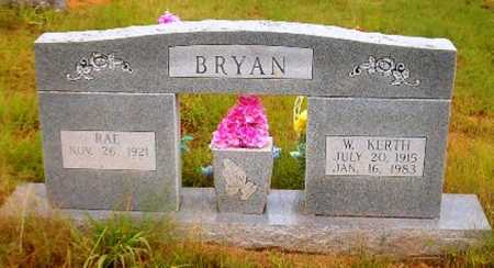 BRYAN, RAE - Searcy County, Arkansas | RAE BRYAN - Arkansas Gravestone Photos