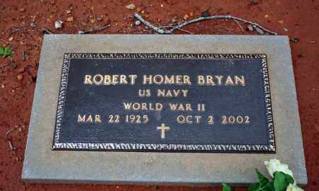 BRYAN (VETERAN WWII), ROBERT HOMER - Searcy County, Arkansas | ROBERT HOMER BRYAN (VETERAN WWII) - Arkansas Gravestone Photos