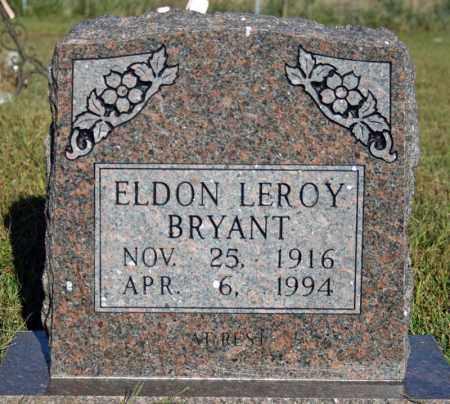 BRYANT, ELDON LEROY - Searcy County, Arkansas | ELDON LEROY BRYANT - Arkansas Gravestone Photos
