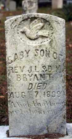 BRYANT, INFANT SON - Searcy County, Arkansas | INFANT SON BRYANT - Arkansas Gravestone Photos