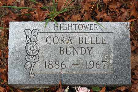 HIGHTOWER BUNDY, CORA BELL - Searcy County, Arkansas | CORA BELL HIGHTOWER BUNDY - Arkansas Gravestone Photos