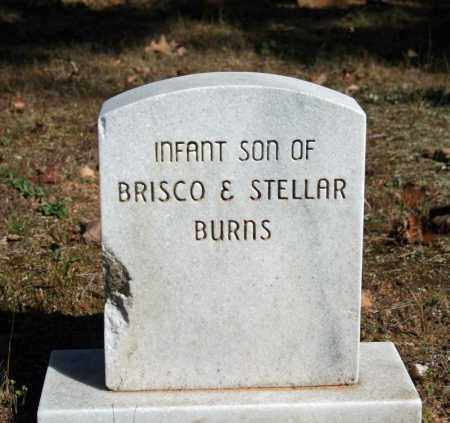 BURNS, INFANT SON - Searcy County, Arkansas | INFANT SON BURNS - Arkansas Gravestone Photos