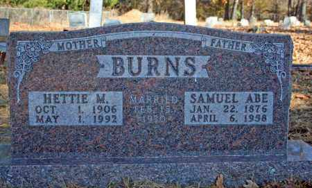 BURNS, HETTIE M. - Searcy County, Arkansas | HETTIE M. BURNS - Arkansas Gravestone Photos