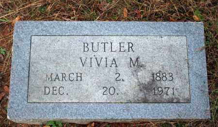 BUTLER, VIVIA M. - Searcy County, Arkansas | VIVIA M. BUTLER - Arkansas Gravestone Photos