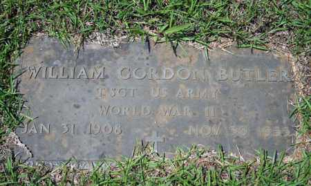 BUTLER (VETERAN WWII), WILLIAM GORDON - Searcy County, Arkansas | WILLIAM GORDON BUTLER (VETERAN WWII) - Arkansas Gravestone Photos